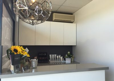 front reception -beauty salon leederville Oxford Beauty Clinic